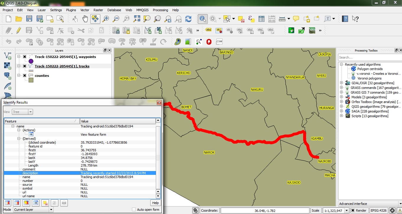 Using Free GPS Tools for Mapping