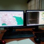 Begin  developing in GIS