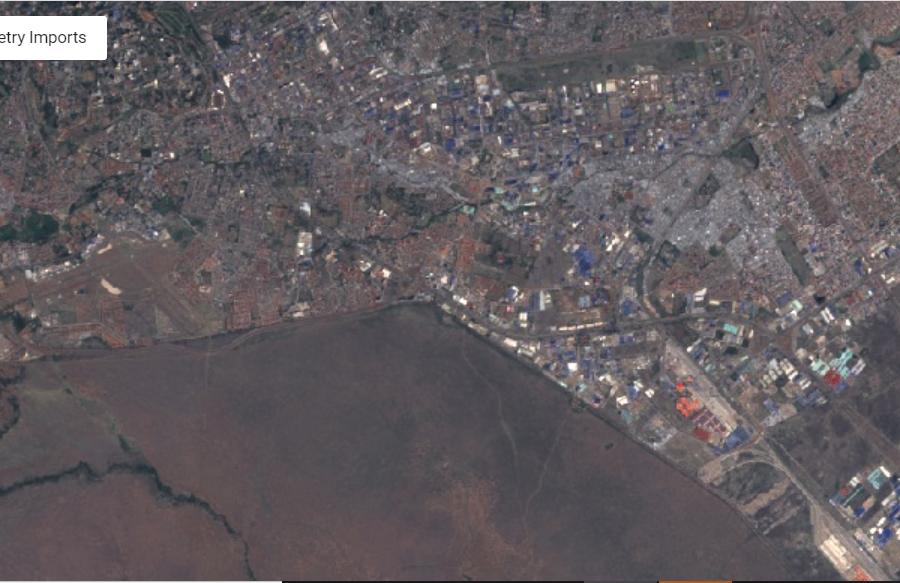Performing Pan-Sharpening on Landsat 8 image in Google Earth Engine.